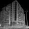 3D Point Cloud greyscale building