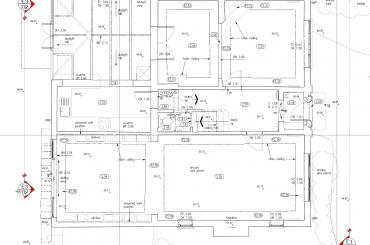 Complex 2D Floor plan