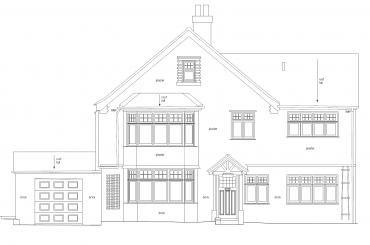 External Elevation of house property