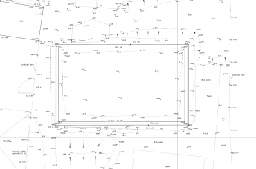 Topographical Survey 2D Plan
